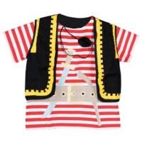 Verkleedkleding | Fantasie | Piraat incl. ooglapje | Educo