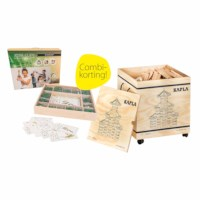 Kapla | Actieset groot | 1000 plankjes + 400 Join Clips