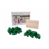 Join clips | Actieset klein | 10 plankjes + 56 clips