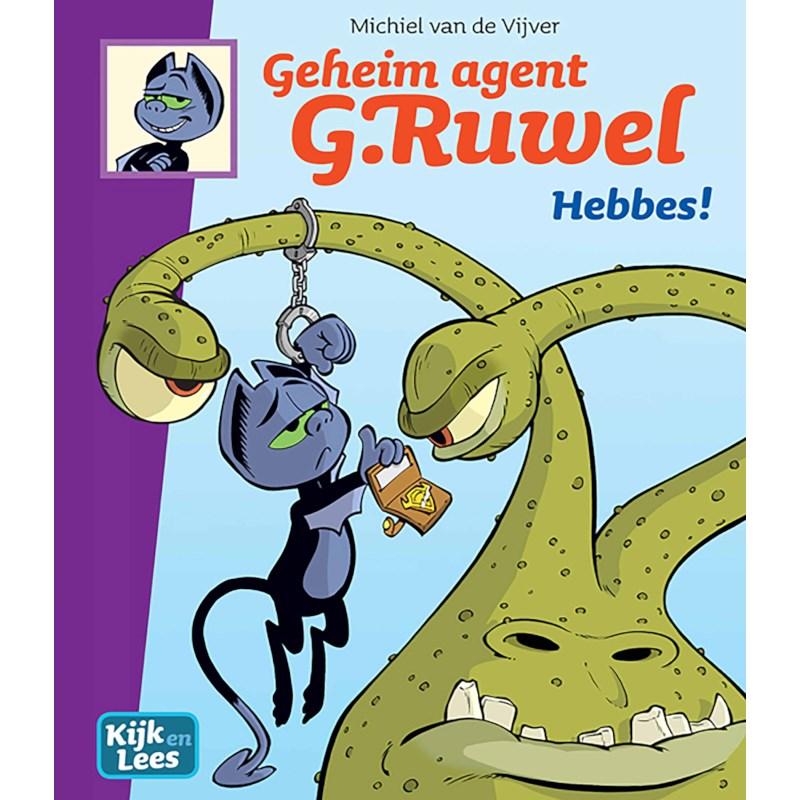 Geheim agent. G. Ruwel - Hebbes! | Kijk en Lees | AVI-stripboek