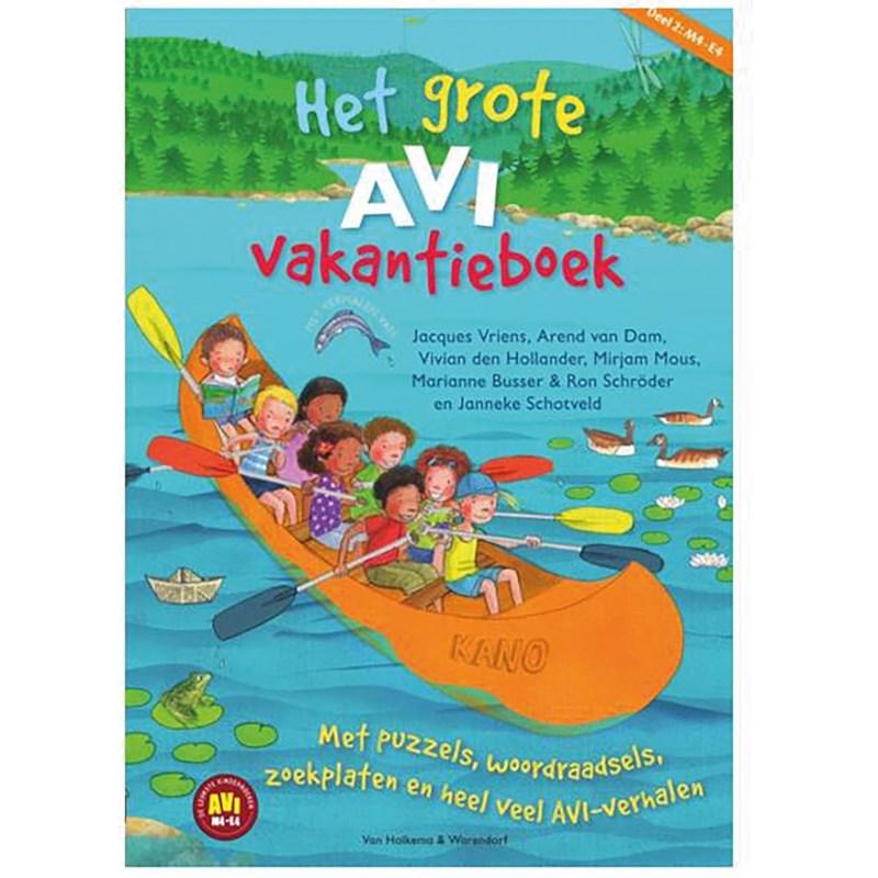 Het grote AVI vakantieboek   Deel 2   AVI M4 - E4