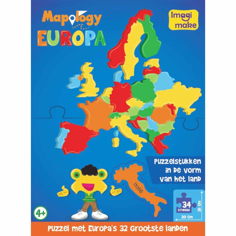 Europa   Foam puzzel