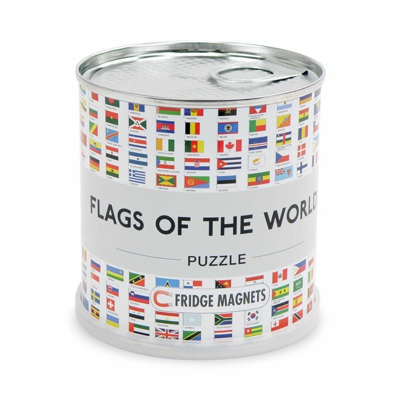 Vlaggen van de wereld   Magnetische puzzel