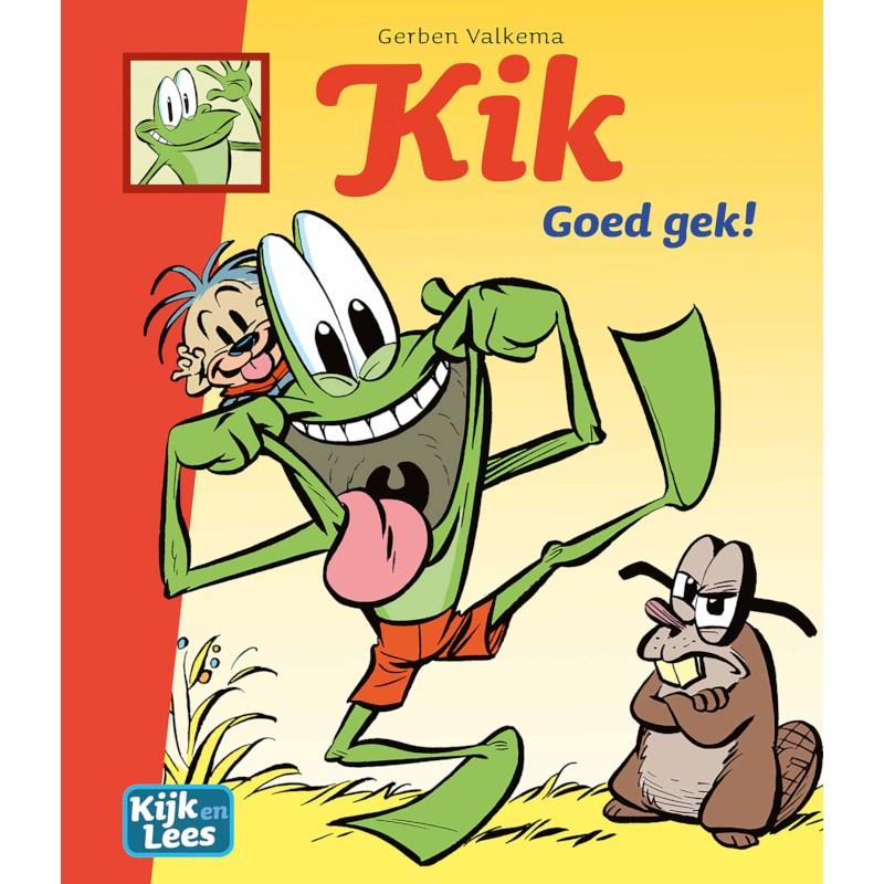 Kik - Goed gek! | Kijk en Lees | AVI-stripboek