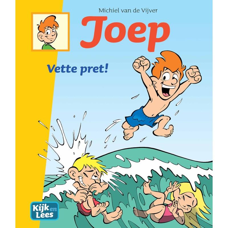Joep - Vette pret    Kijk en Lees   AVI-stripboek