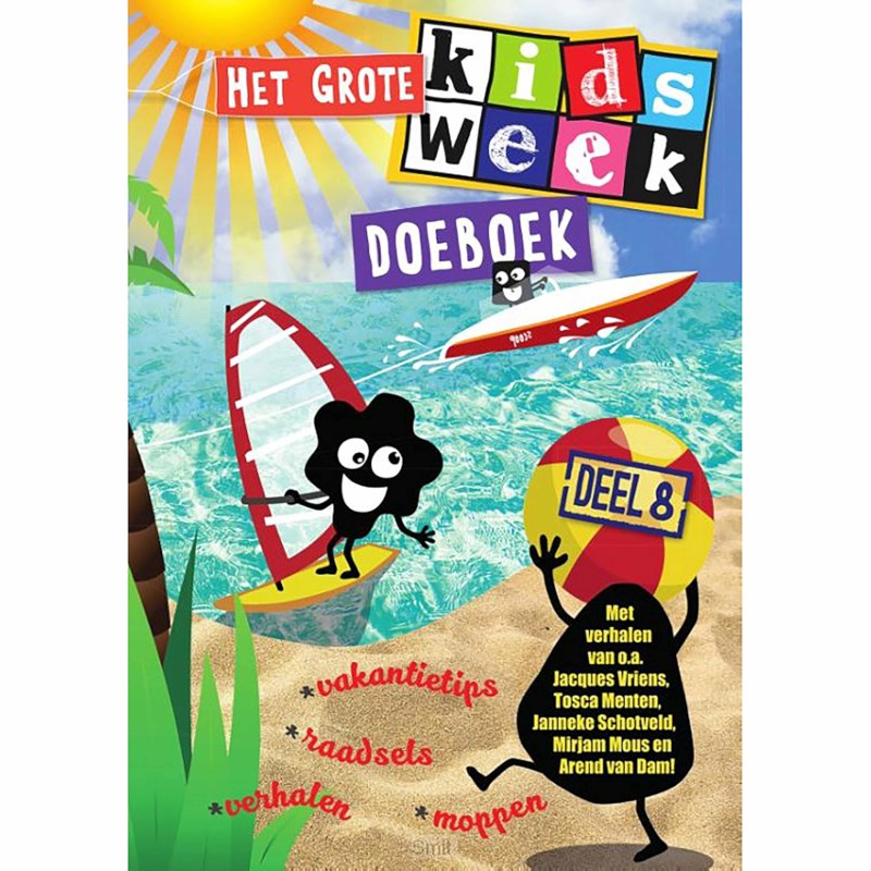 Het grote Kidsweek doeboek | Deel 8
