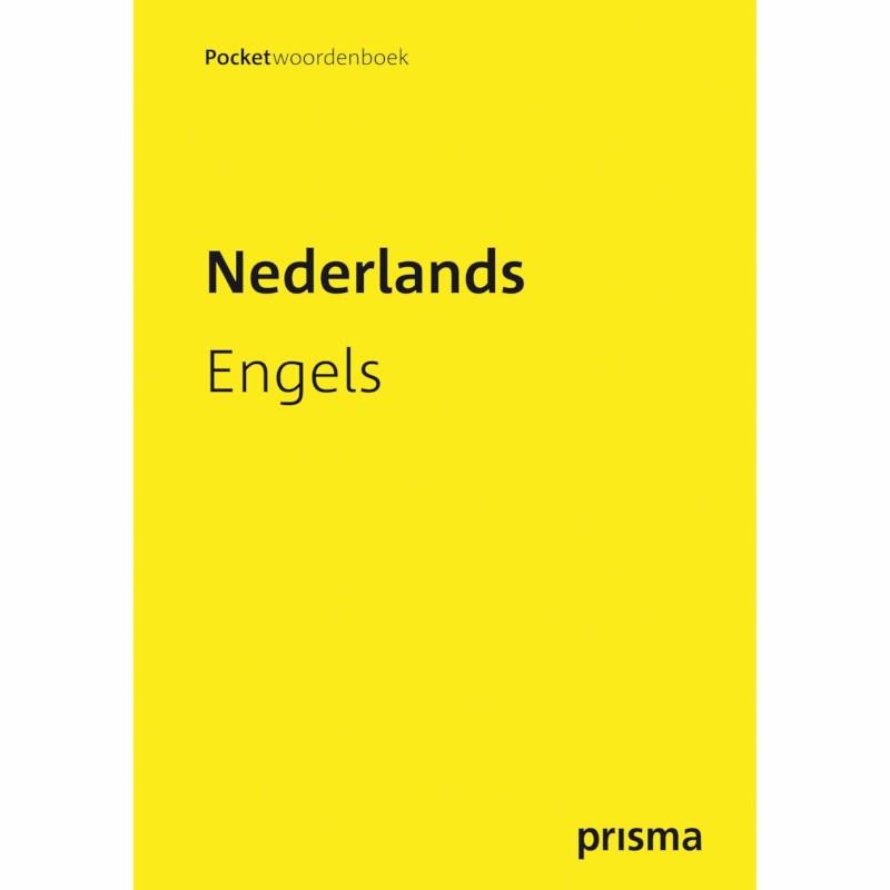 Pocketwoordenboek Prisma | Nederlands-Engels