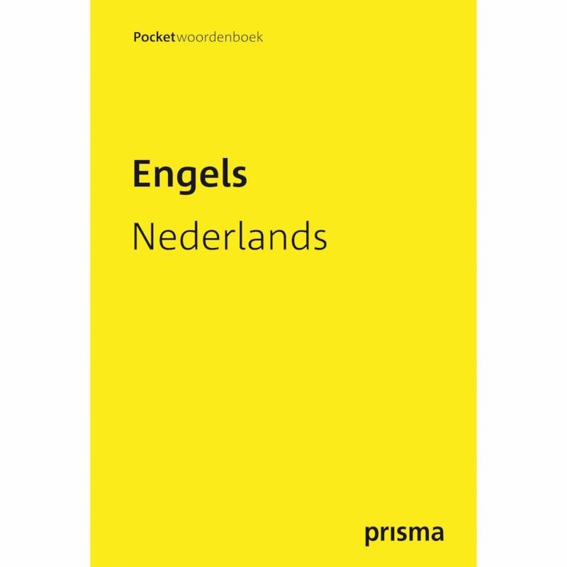 Pocketwoordenboek Prisma   Engels-Nederlands