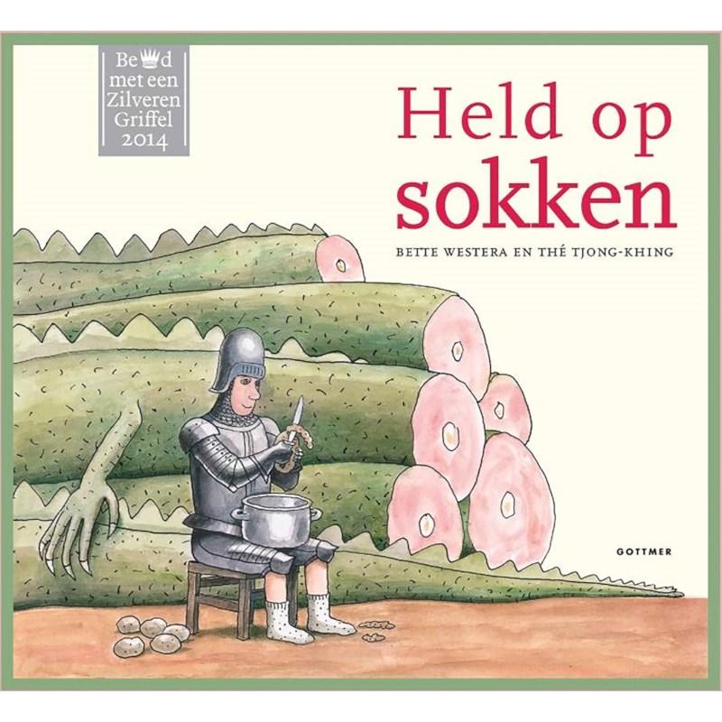 Leesboek Held op sokken | Groep 1-2 | Kinderboekenweek 2020