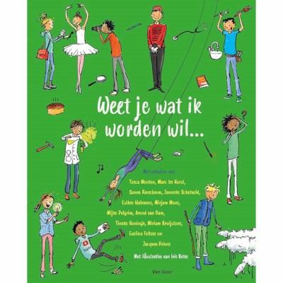 Leesboek Weet je wat ik worden wil?   Groep 7-8   Kinderboekenweek 2021  kopen?   Heutink voor thuis