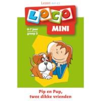 Mini Loco Lezen met Pip en Pup, twee dikke vrienden