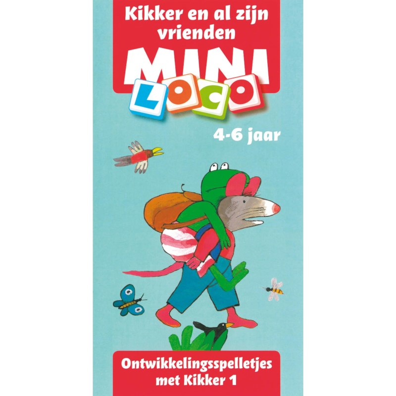 Mini loco Kikker en al z'n vriendjes deel 1