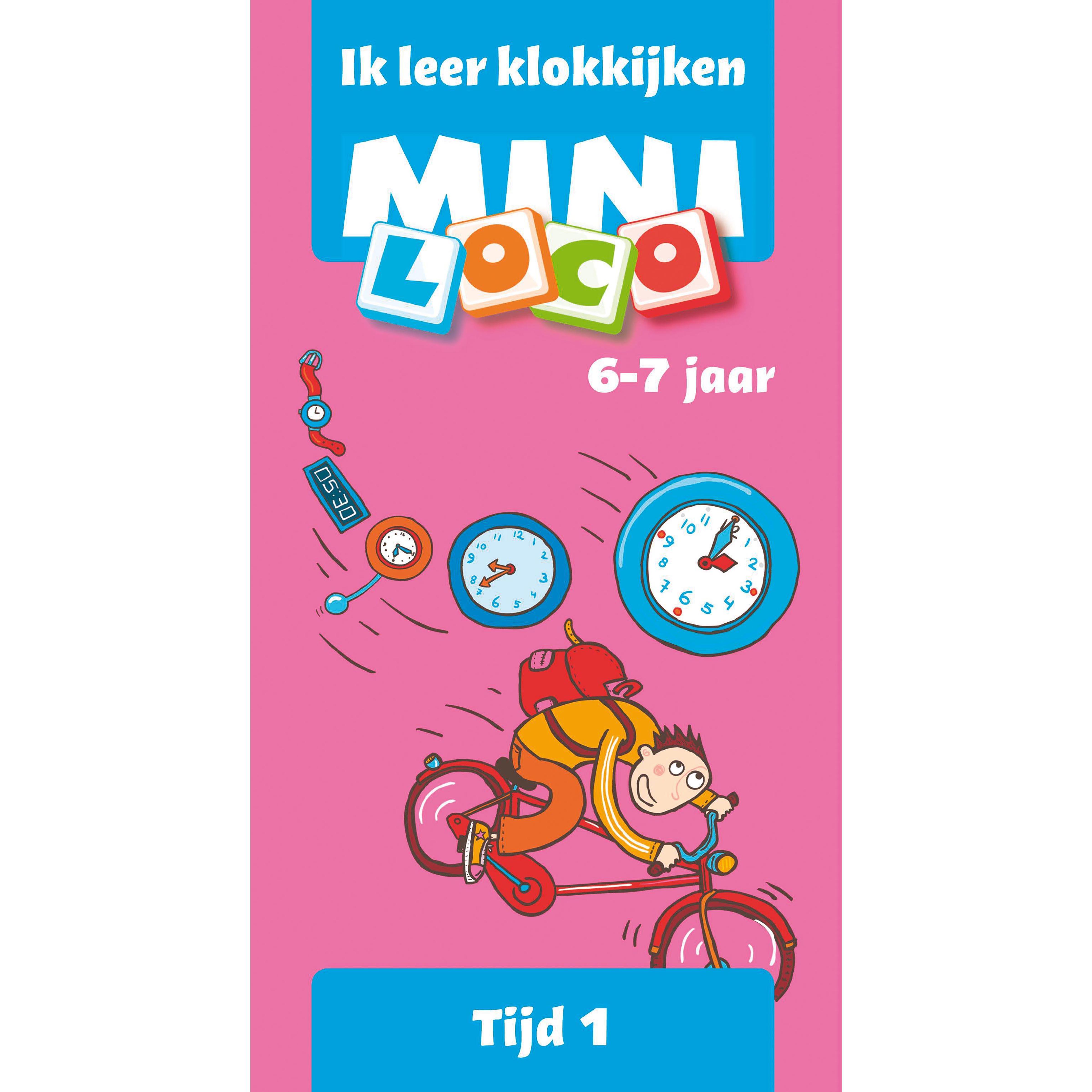 Mini loco Ik leer klokkijken groep 3
