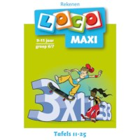 Maxi loco Tafels 11 t/m 25
