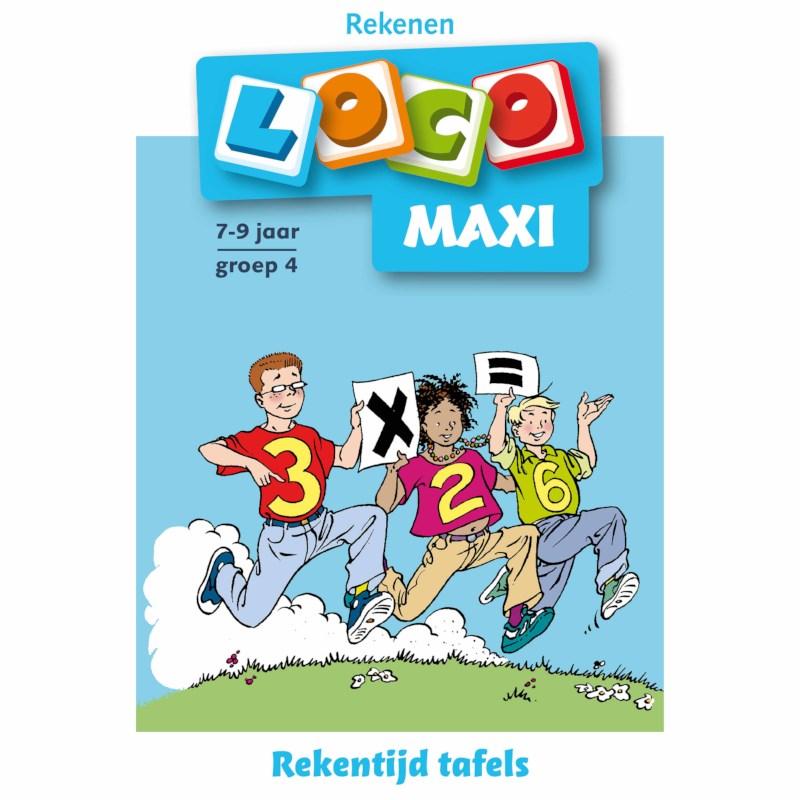 Maxi loco Rekentijd tafels
