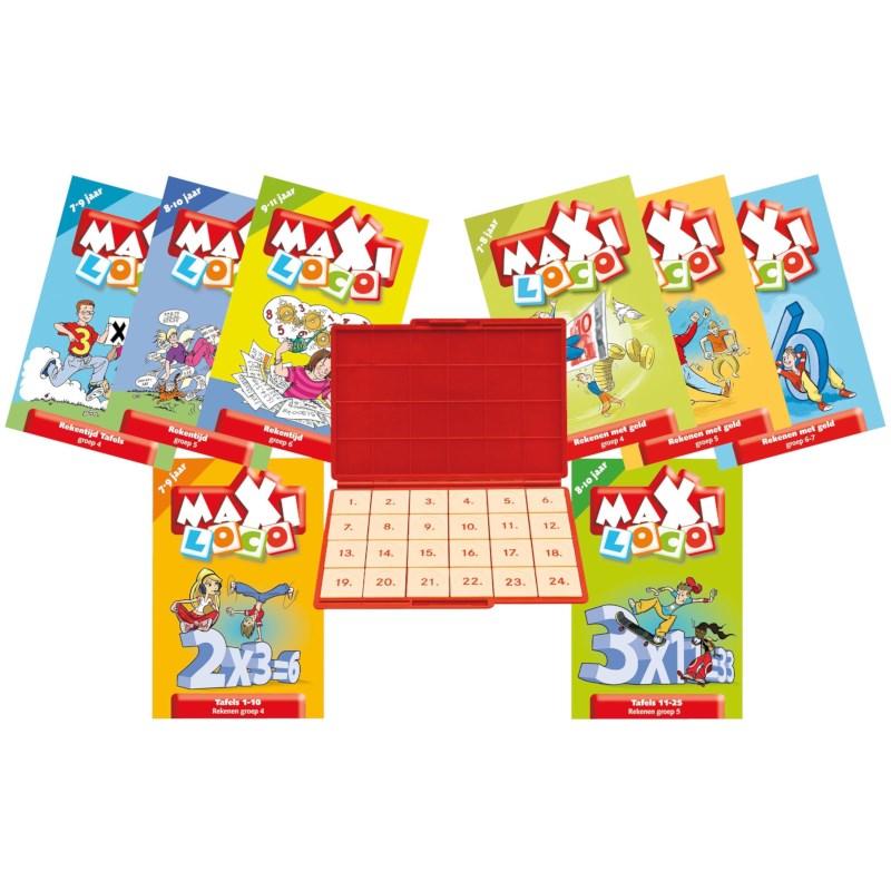 Maxi loco Spelling groep 4 | Deel 1