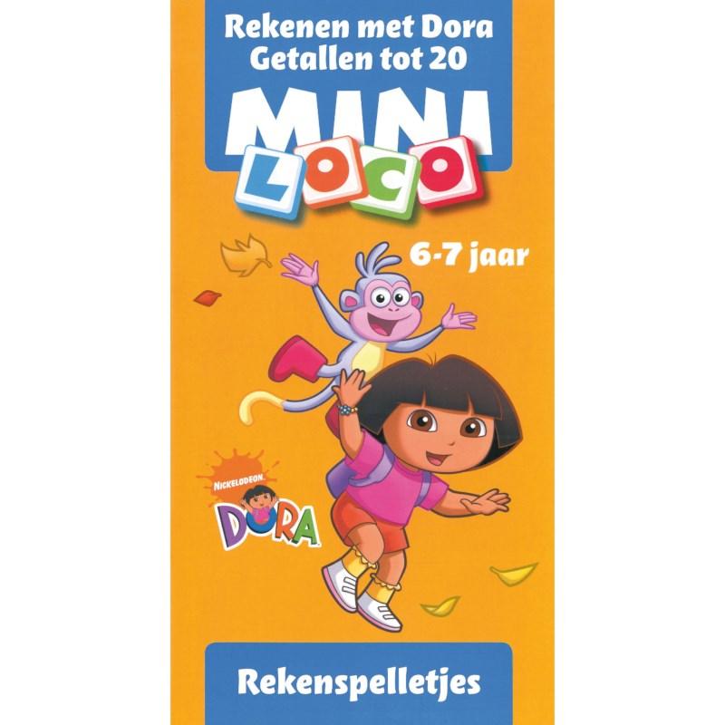 Mini loco Rekenen met Dora tot 20