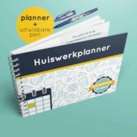 Huiswerkplanner basic + uitwisbare pen