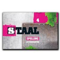 Letterkaarten 4, Staal