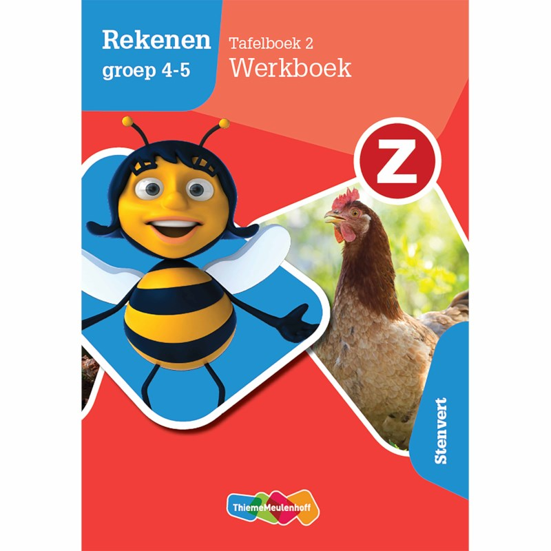Z-Rekenen | Werkboek Tafelboek 2 | Groep 4-5