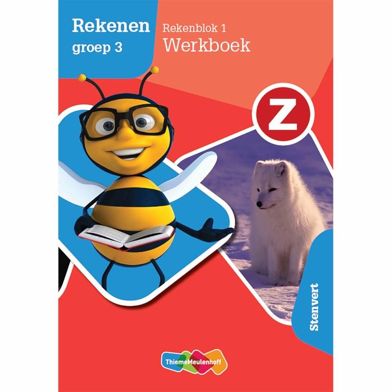 Ongekend Z-Rekenen | Werkboek Rekenblok 1 | Groep 3 kopen? | Heutink voor thuis HY-44