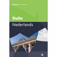 Woordenboek | Prisma | Duits - Nederlands
