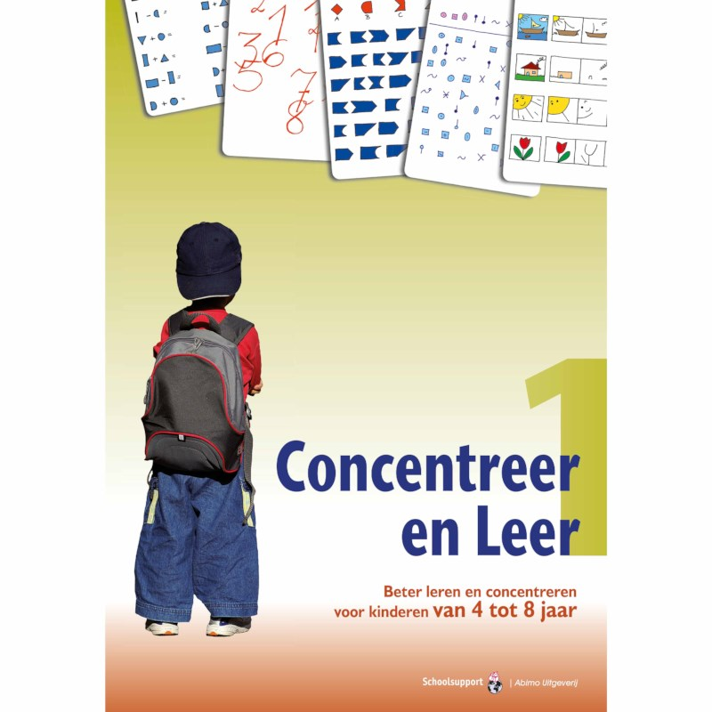 Concentreer en leer 1 (4 tot 8 jaar)