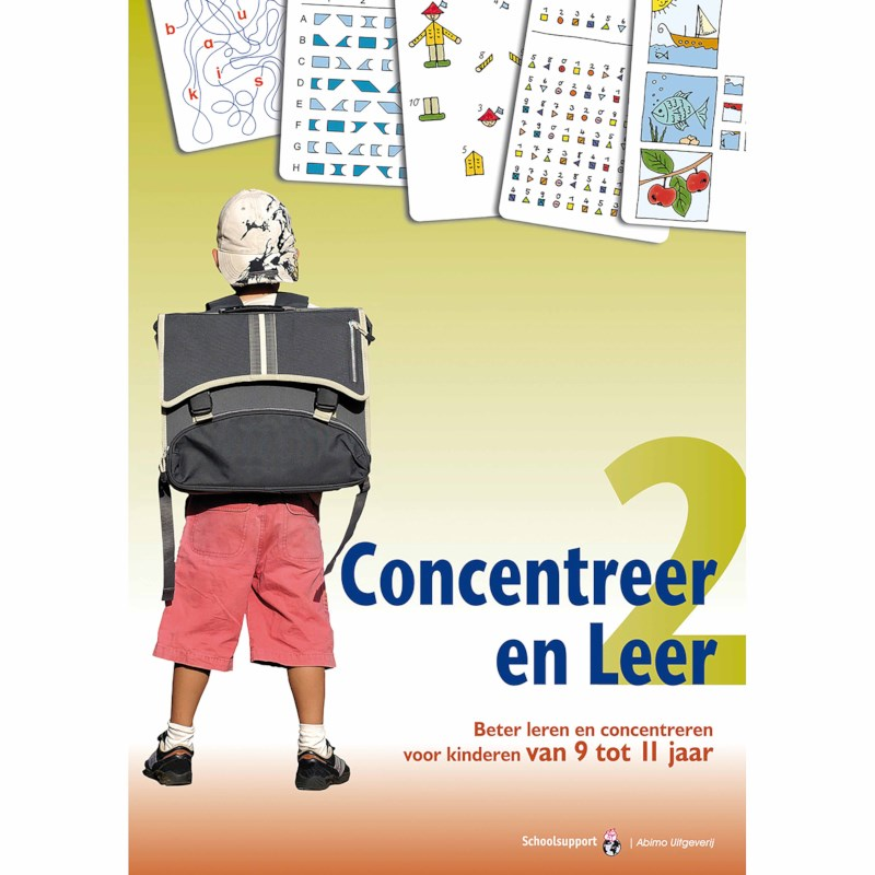 Concentreer en leer 2 (9 tot 11 jaar)