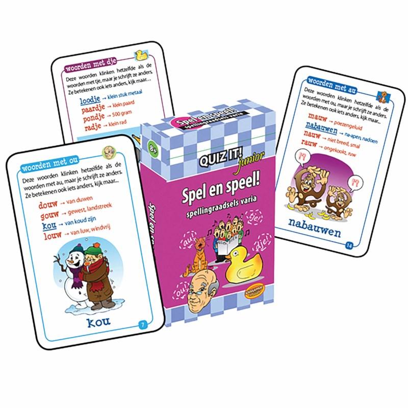 Quiz it! junior   Spellingraadsels varia