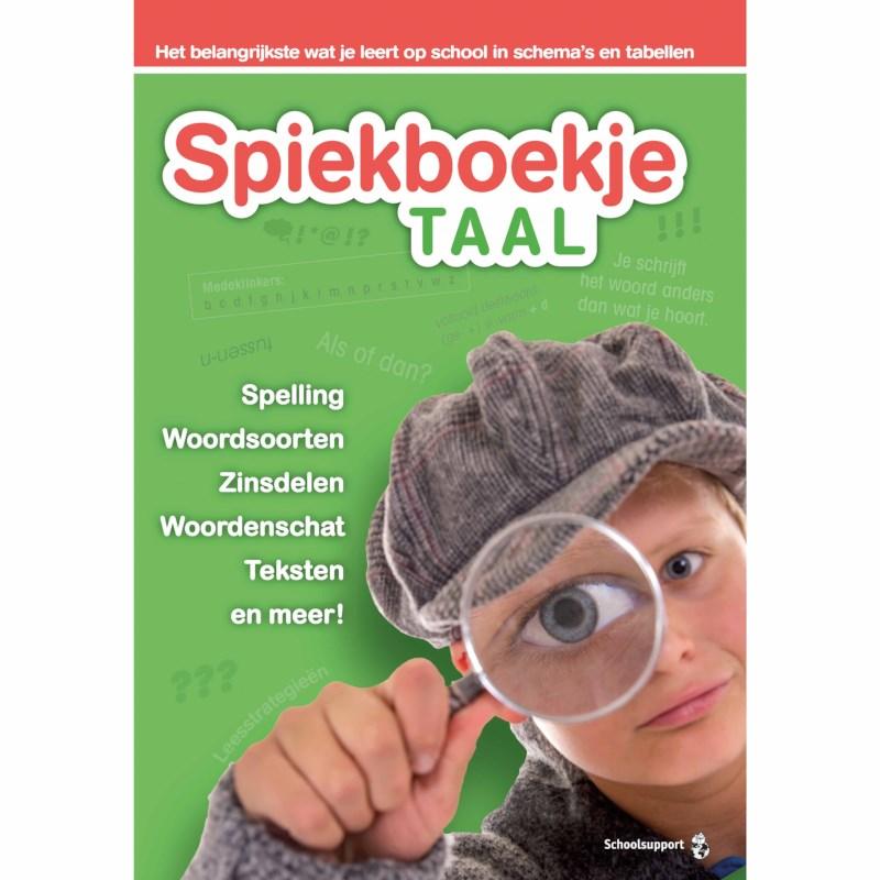 Spiekboekje taal