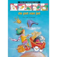 Avi-stripboek De pet van Jet (avi start)