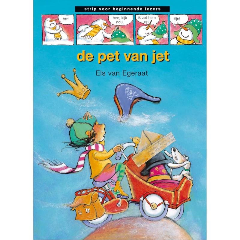 Avi-stripboek De pet van Jet (avi start)