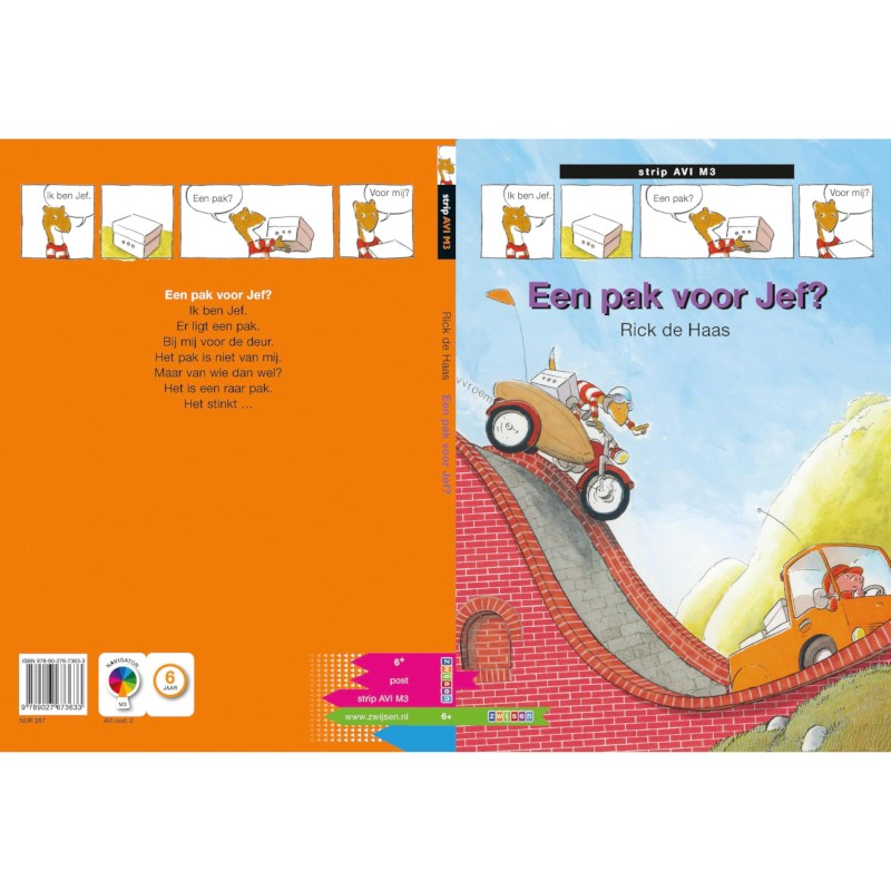 Avi-stripboek Een pak voor Jef (avi M3)