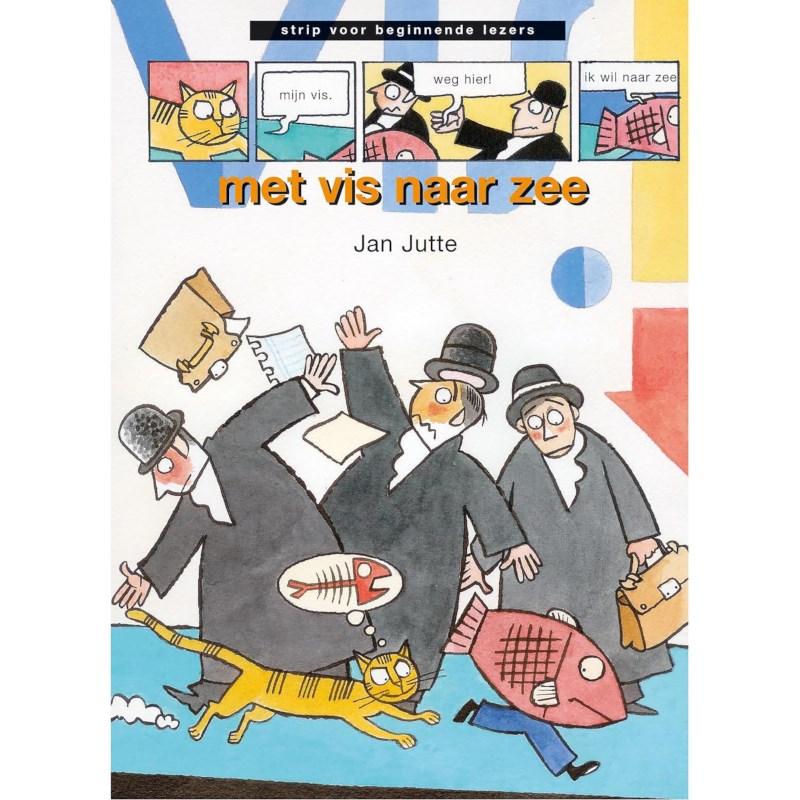 Avi -stripboek Met vis naar zee (avi Start)