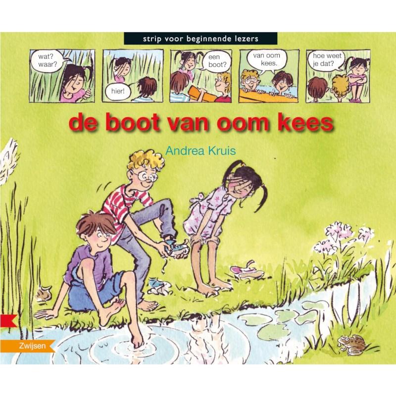 Avi- stripboek De boot van oom Kees (avi M3)