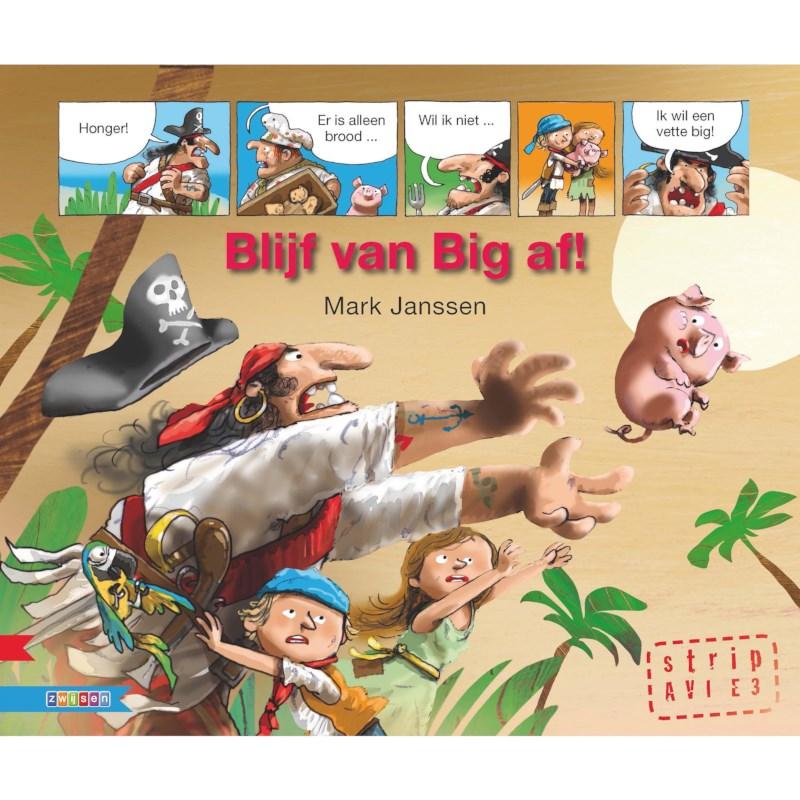 Avi- stripboek Blijf van Big af (avi E3)