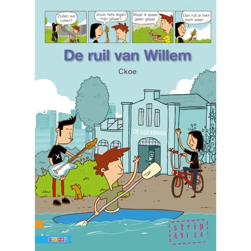 Avi- stripboek De ruil van Willem (avi E4)