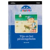 Leesboek M6 Tijn en het piratengeheim, Estafette