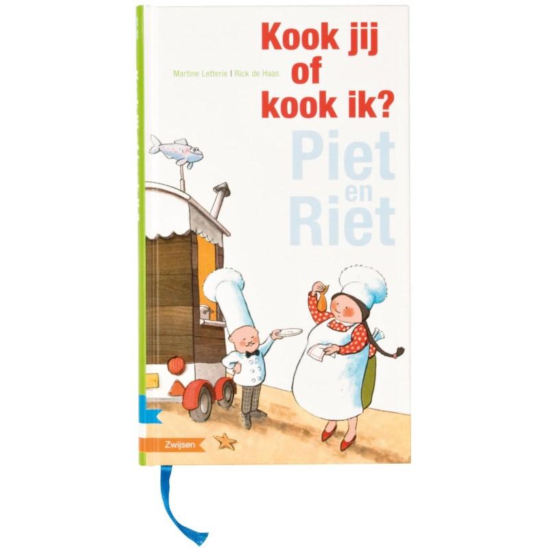 Avi meegroeiboek | Piet en Riet | Kook jij of kook ik? (avi Start - M4)