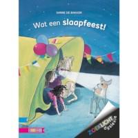 Leesboek Wat een slaapfeest! (avi E3)