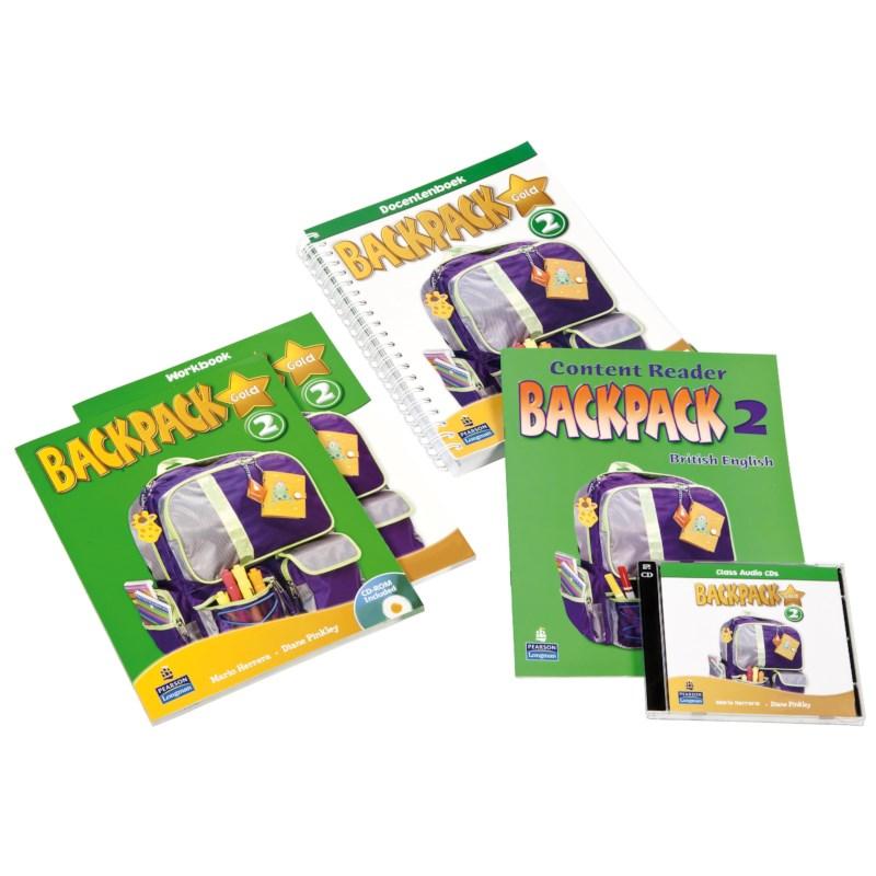 Backpack Gold - versie 1 (2010)   Jaargroep 6 - Level 2   Leerlingenboek + cd-rom