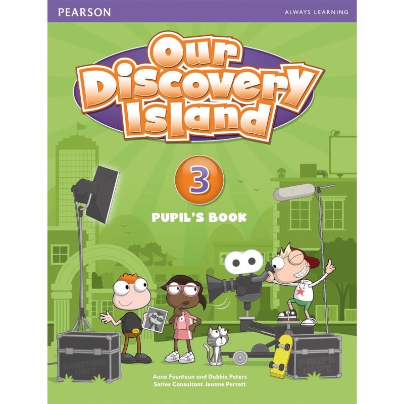 Engels leerlingboek 7, Our Discovery Island