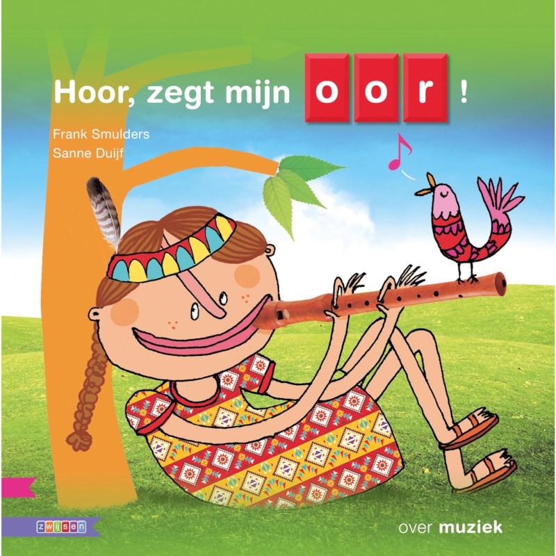 Kleutersamenleesboek Hoor, zegt mijn oor! (avi Start)