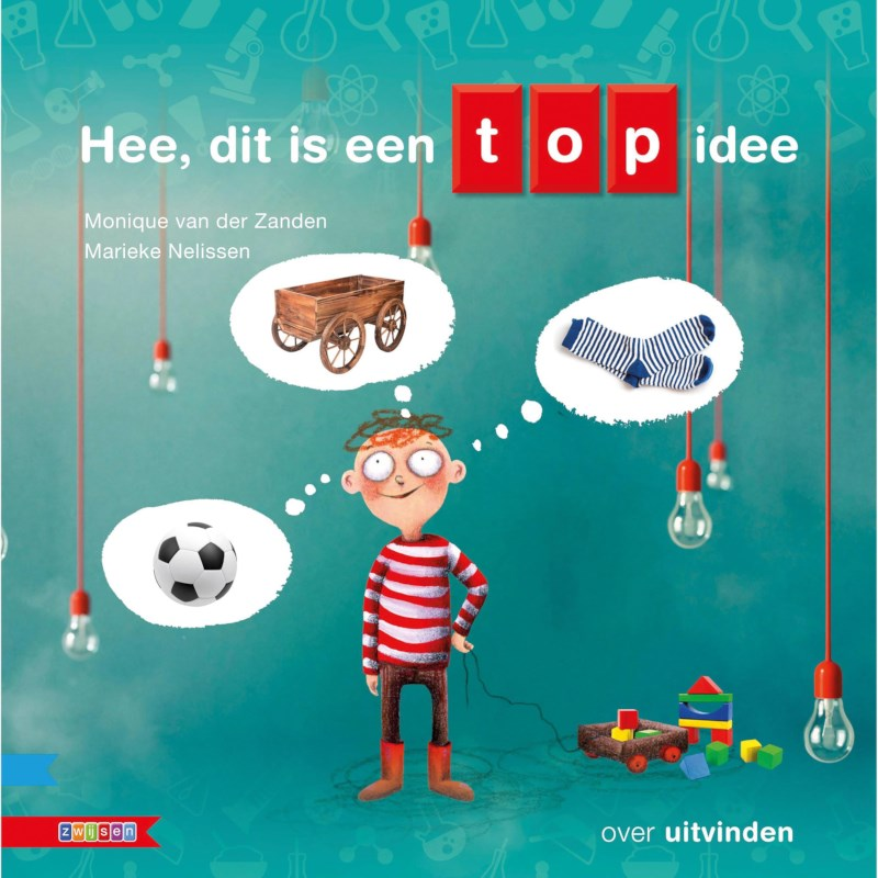 Kleutersamenleesboek Hee, dit is een top idee! (avi start)