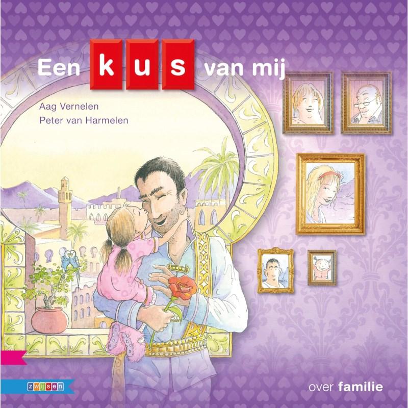 Kleutersamenleesboek Een kus van mij (avi Start)