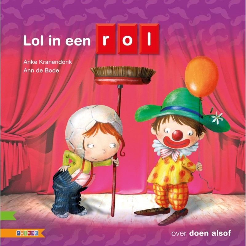 Kleutersamenleesboek Lol in een rol (avi start)