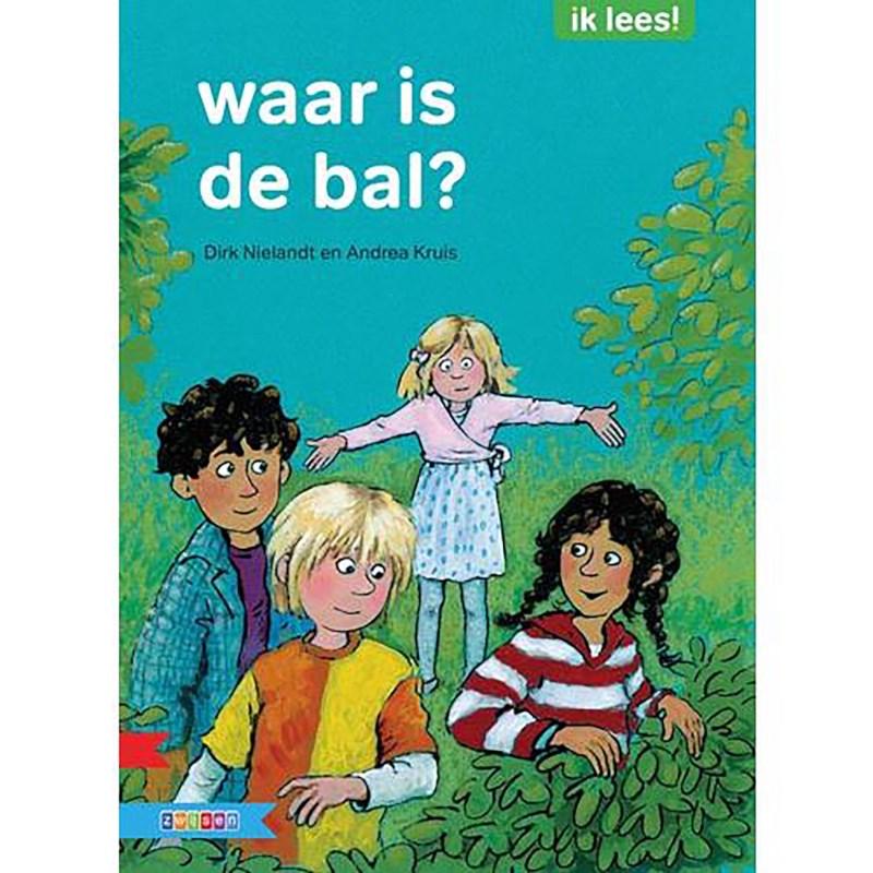 Leesboek Waar is de bal? (avi Start)