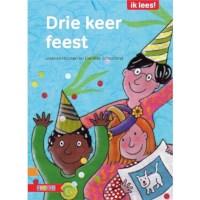 Leesboek Drie keer feest (avi M4)