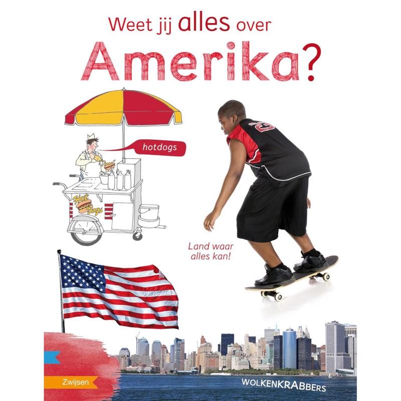 Leesboek Weet jij alles over Amerika? (avi E5)