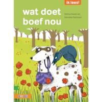Leesboek Wat doet boef nou? (avi Start)